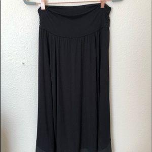 Apt 9 Large Womens Skirt Black